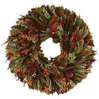 Urban Florals Autumn Forest Wreath 4191 Size: 30