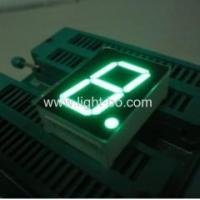 Best Pure Green 1-inch common anode single digit seven segment numeric led displays wholesale