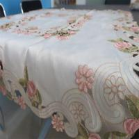 Best PG-Embroidered tablecloths-009 wholesale