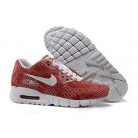 China Buy Online Nike Air Max 90 Carved Mens Shoes White Red on sale