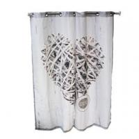 Quality white window fabric curtain wholesale