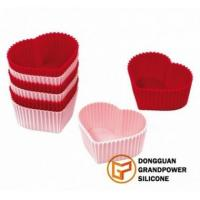 Best Heart Cup Cake Molds wholesale