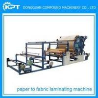 Best Vertical automatic high speed fabric laminating machine wholesale