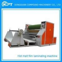 Buy cheap Hot Melt Adhesive Film Nowoven Fabric Laminating Machine from wholesalers