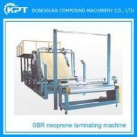 Buy cheap Double side woven fabric laminating machine for SBR with cloth, non-woven fabric from wholesalers