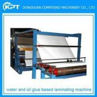 Buy cheap Multi-function and water based glue laminating machine for cloth, EVA, PVC, paper, leather, plastic from wholesalers