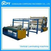 Buy cheap paper to fabric semi automatic mounting laminating machine for sale from wholesalers