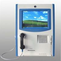 Best Wall-mountd touchscreen IP phone kiosk wholesale