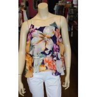 Best Floral Print Layered Top wholesale
