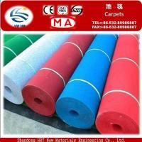 Best Carpets Fire Resistance Needle Punched Exhibition Carpet wholesale