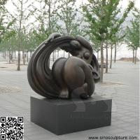 Best bronze contemporary art sculpture , casting bronze contemporary statue in Beijing China wholesale
