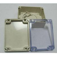 Plastic injection parts ABS sealed plastic waterproof enclosure