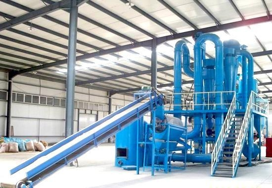 Details of biomass pellet equipment