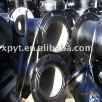 China Ductile cast iron flange fitting on sale