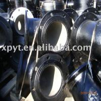 China Ductile cast iron flange fittings on sale