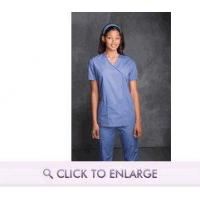 Mock Wrap Scrub Tunic by Cherokee Authentic Workwear