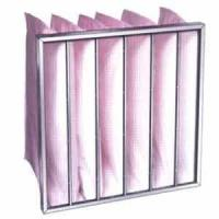 Non-woven junior high efficiency air filters