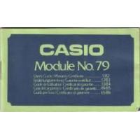 Best Casio 79QS Universal with Full Calendar Module 79 LCD Watch User's Manual PDF wholesale