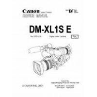 Best Canon DM-XL1S E Mini DV Digital Video Camera Service Manual - PAL PDF wholesale