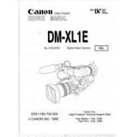 Best Canon DM-XL1E Mini DV Digital Video Camera Service Manual PAL PDF wholesale