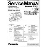 Best Panasonic NV-M9500EN HI-FI HQ Camcorder Service Manual PDF wholesale