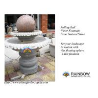 Best Water Garden Granite Floating / Rolling Sphere Fountain wholesale