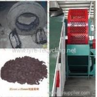 Waste Tire Recycling Line Crumb Rubber Plant For Tire Recycling