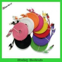 China 2M/3M customized lightning 8pin flat noodle usb cable for iphone 5 on sale