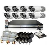 Best 8 channel H.264 DVR 1000G + 8 Infrared Camera (M401H) wholesale