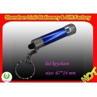 Best promotional best metal Aluminium body Led flashlight keychain torch wholesale