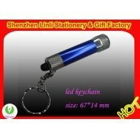 Cheap promotional best metal Aluminium body Led flashlight keychain torch for sale