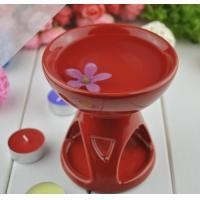 Cheap Colorful Essential Oil Warmer Room Fragrance Aromatherapy Oil Candle Burner MS-CB030 for sale