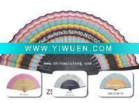 Best Artificial Crafts(970) Special wooden hand fan of many colors wholesale