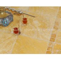 Quality Galatia Giallo Travertine Tumbled wholesale