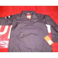 China Supreme North Face Windbreaker Pullover Hoodie Jacket Black on sale