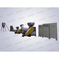 Two-stage de-natured, hard gel,water gap recycle machine