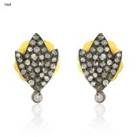 Buy cheap Pave Diamond Stud Earring from wholesalers