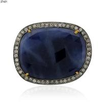 Buy cheap Blue Sapphire Gemstone Cord Finding from wholesalers