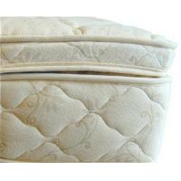 Best Beds and Bedding Natural Latex Mattress Topper Quilted with Organic Cotton and Wool wholesale