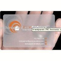 Best Clear card wholesale