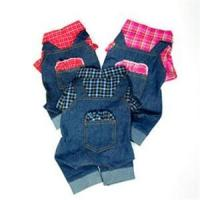 Best Denim Jeans with Plaid Shirt And Backpack Overall wholesale