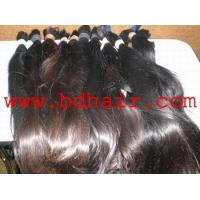 China younger girl virgin remy single drawn hair on sale