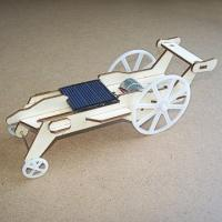 solar toys Plywood Solar Car (DIY Accessory Parts)