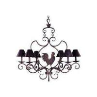 Best Country French 6-Bulb Chandelier wholesale
