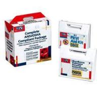 Best 50 PERSON ANSI AND OSHA COMPLIANCE PACKAGE / CPR FACE-SHIELD, LA[228-CP] wholesale