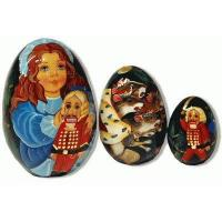 Nutcracker - Matreshka Nesting Eggs