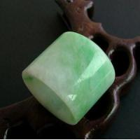 Best Antique Green Jade Jadeite Thumb Ring 20th wholesale