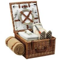 Best Picnic at Ascot - London Cheshire Basket for Two w BlanketItem #: 344503 wholesale