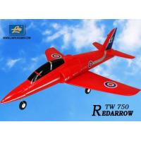 China Jet EDF airplane TW 750 EPO Red Arrow rc Jet on sale