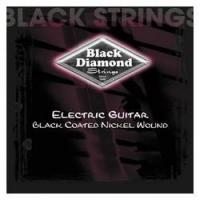China BLACK DIAMOND Black Coated Nickel Wound Guitar Strings on sale